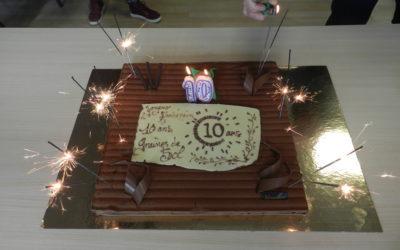 Graines de SOL a soufflé ses 10 bougies !!!