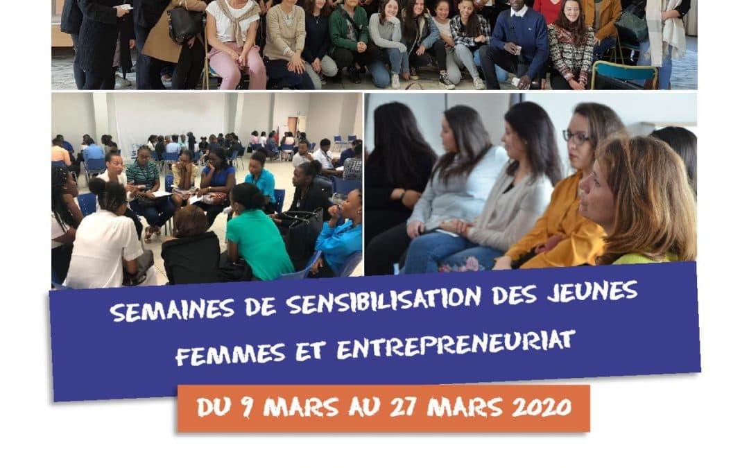 Mobilisation de votre réseau pour les semaines de sensibilisation «entrepreneuriat féminin»