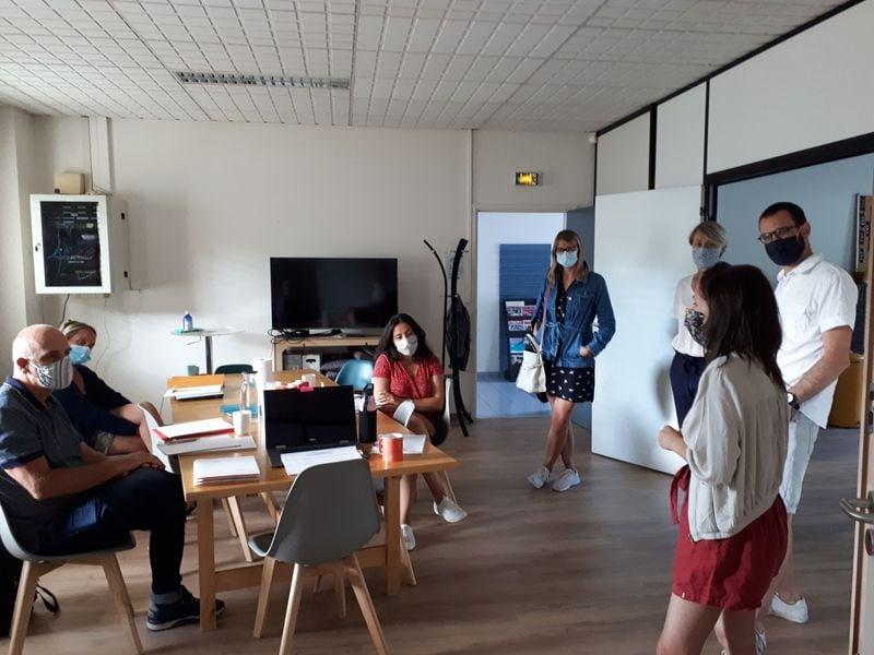 Nouvelle promo et premier atelier dans les nouveaux locaux !!